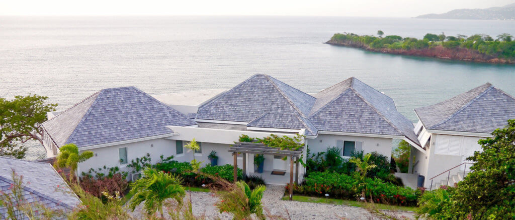 luxury Caribbean villas ocean views