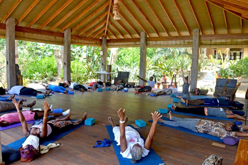 charity yoga retreat