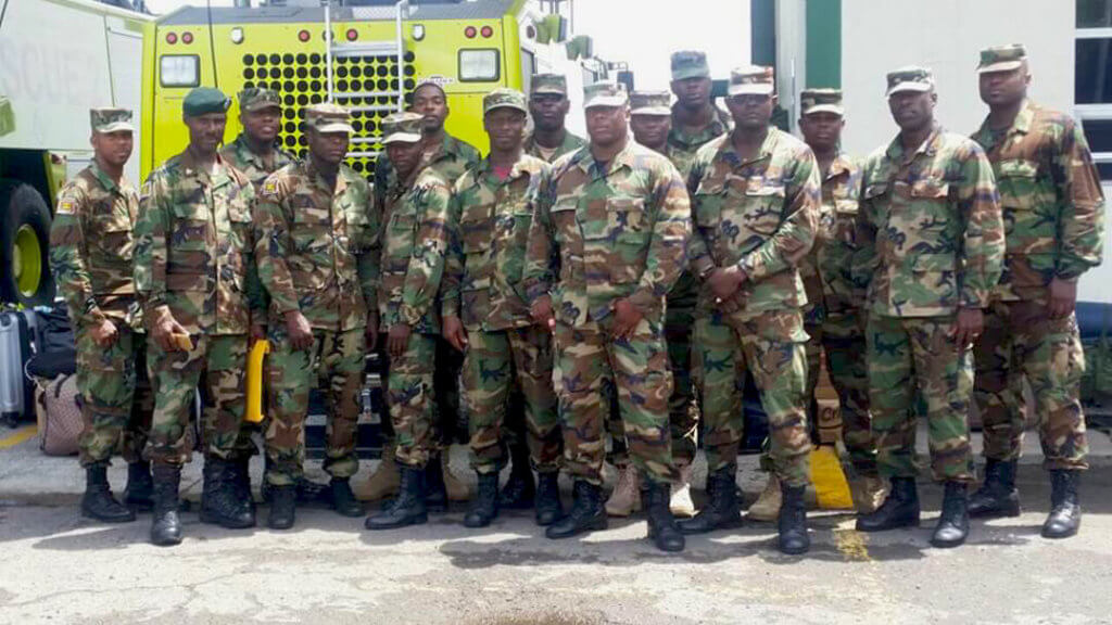 The Special Service Unit of the Grenada Royal Police Force
