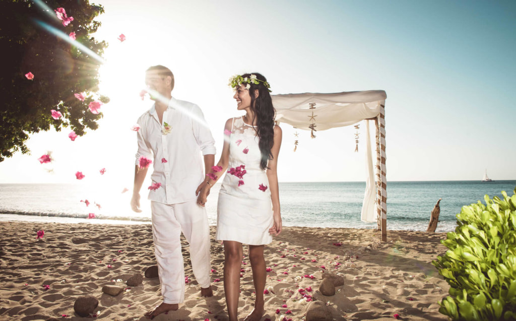 june wedding in the Caribbean