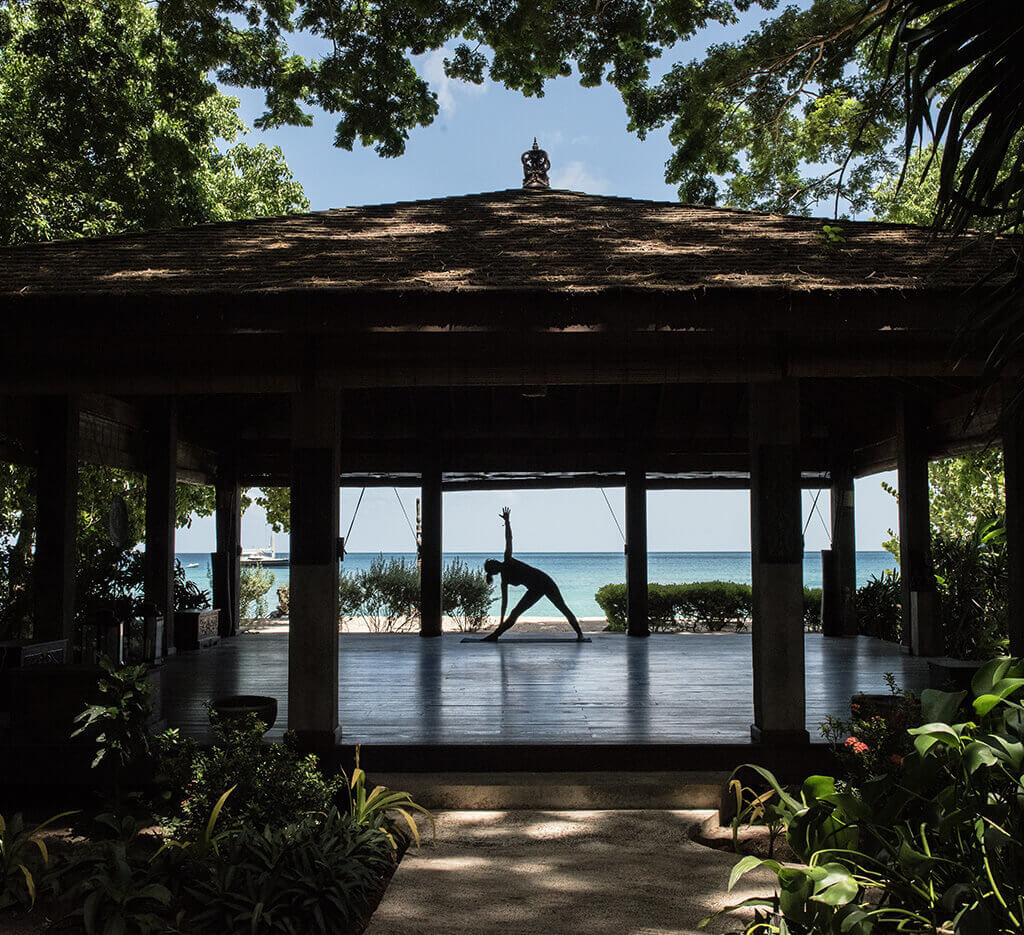 yoga pavilion at laluna