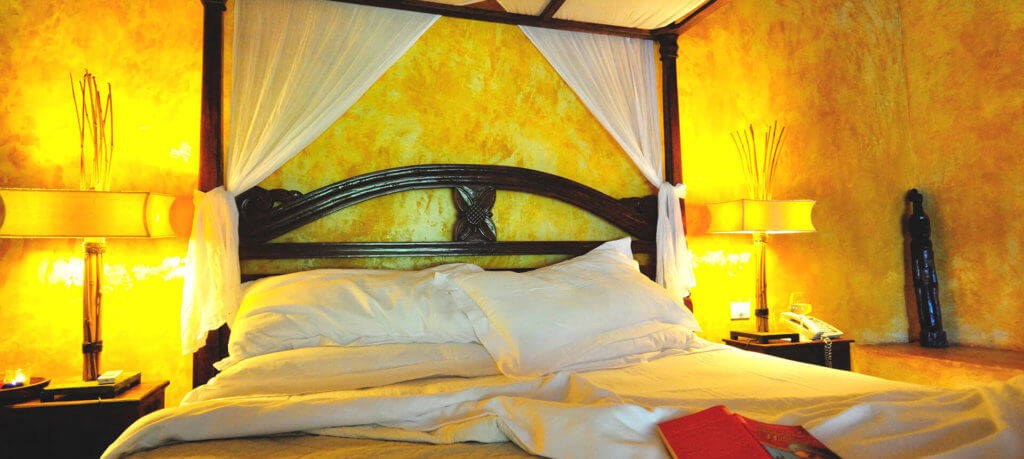 best caribbean vacation for couples bed