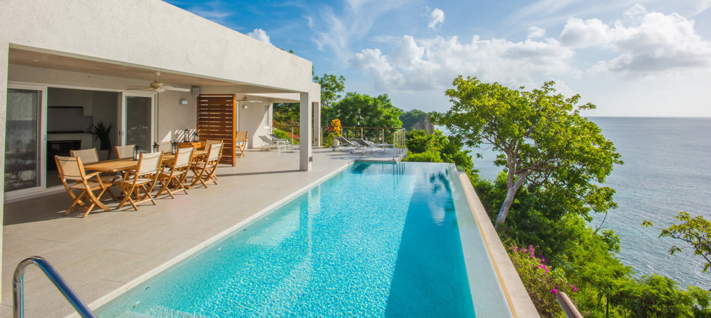 best hotels in Grenada villa view