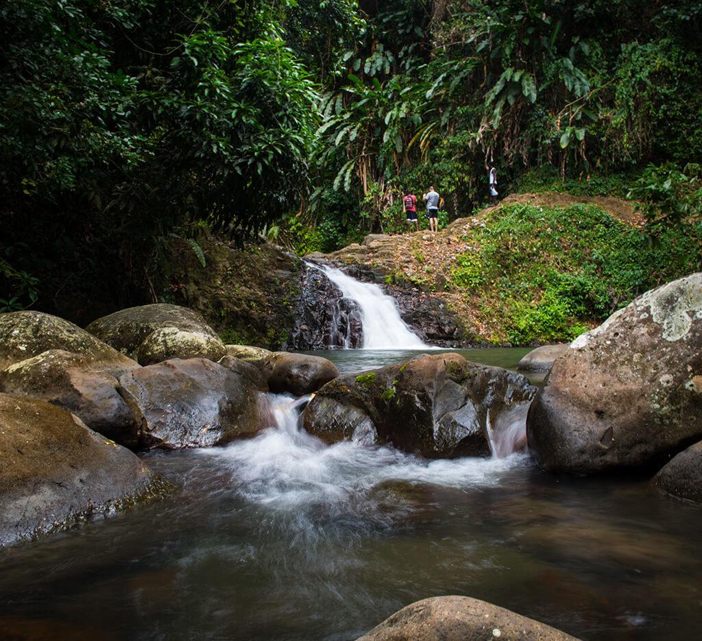 grenada waterfall
