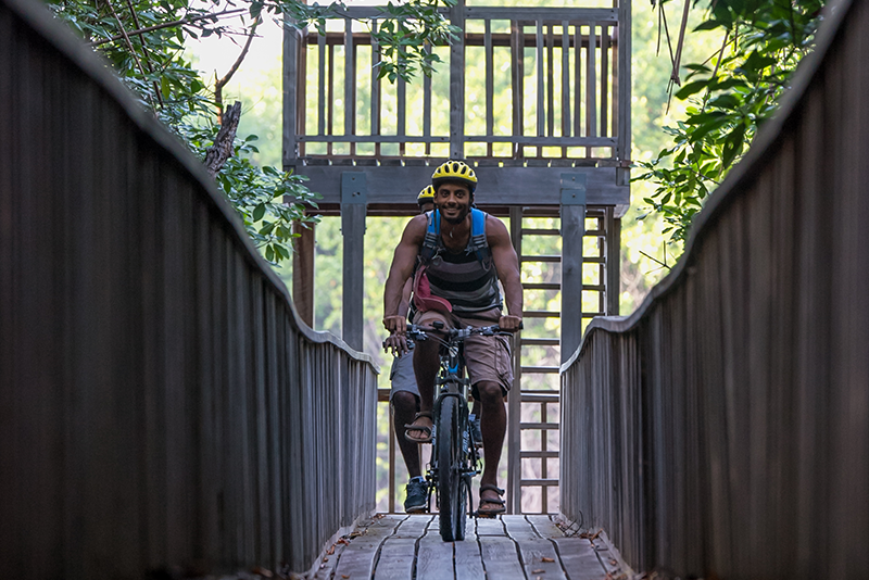 Explore the island with Grenada mountain biking.