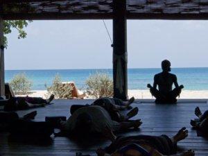yoga on the beach Grenada