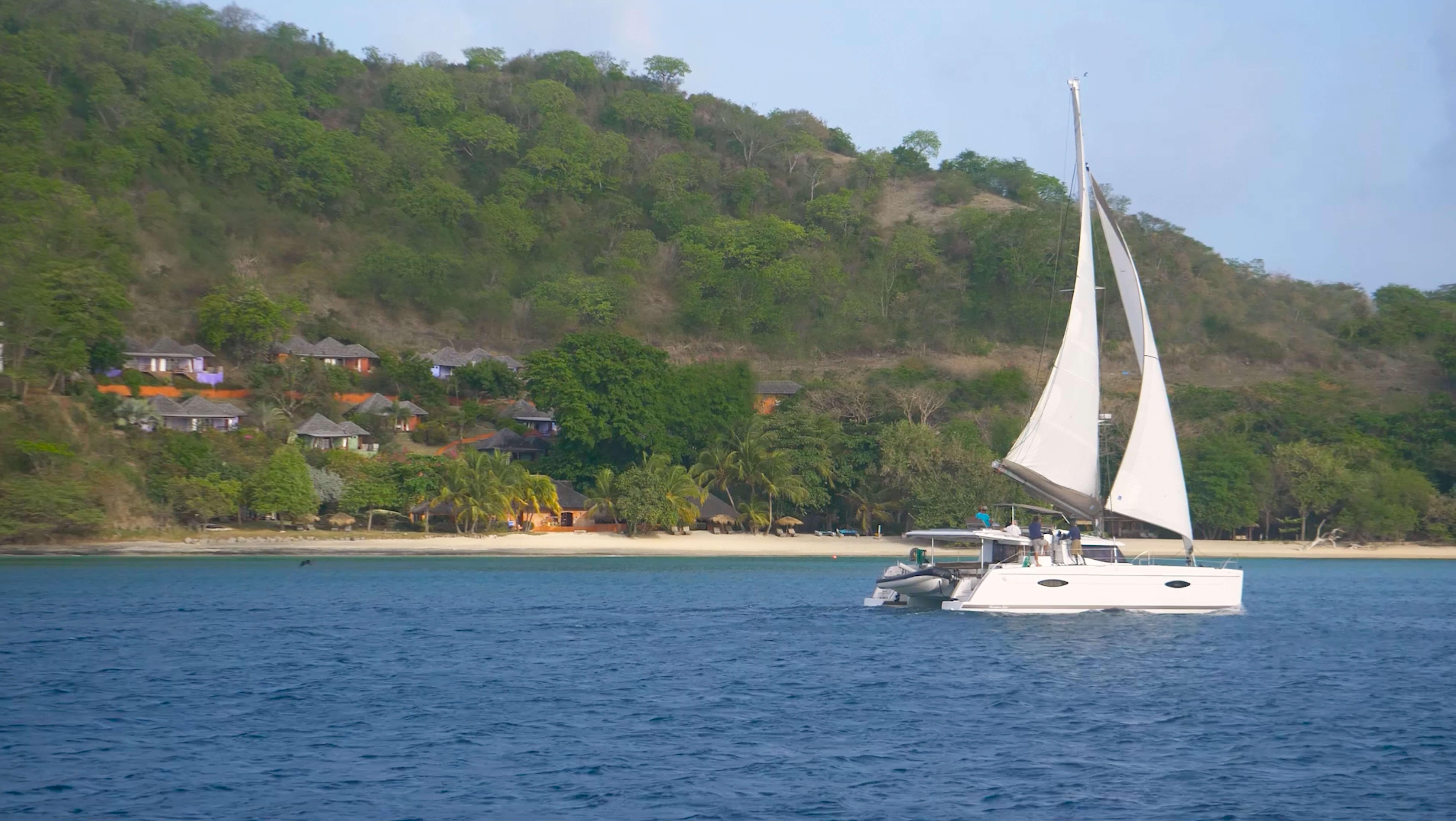 laluna's private yacht