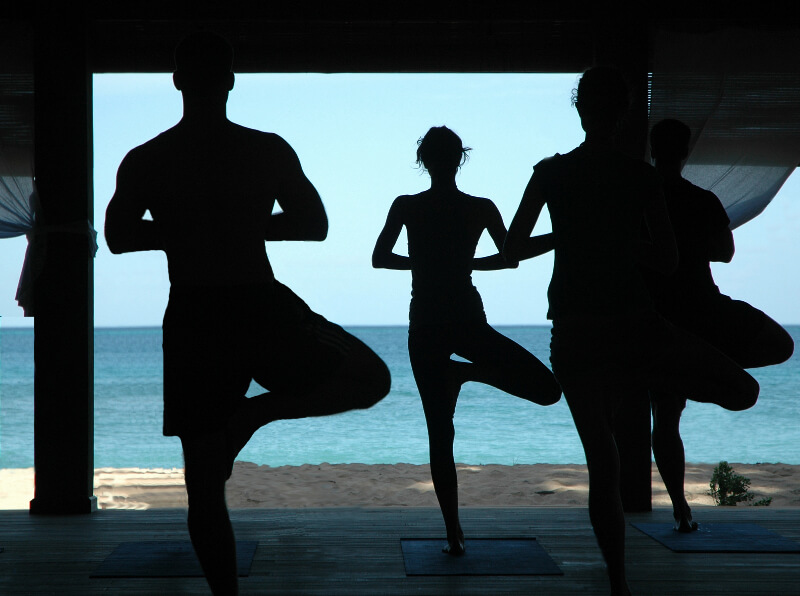Yoga retreat Caribbean destination