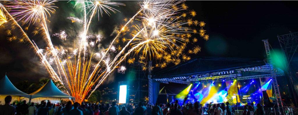 Grenada Music Festival celebration