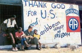 graffiti of thanking americans
