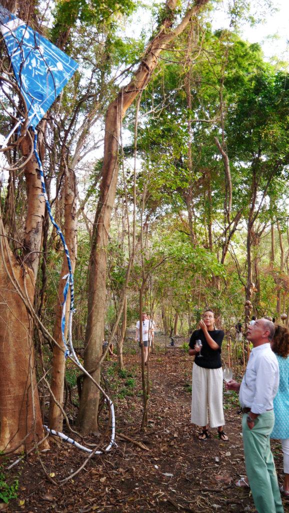 installation of Grenada sculpture garden