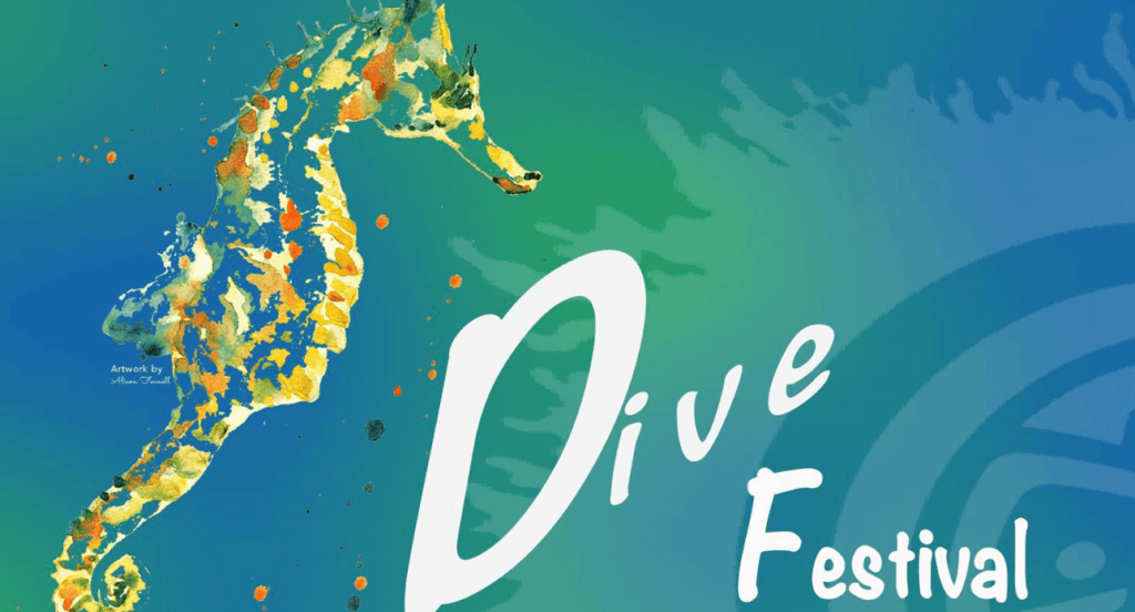 Grenada diving festival logo