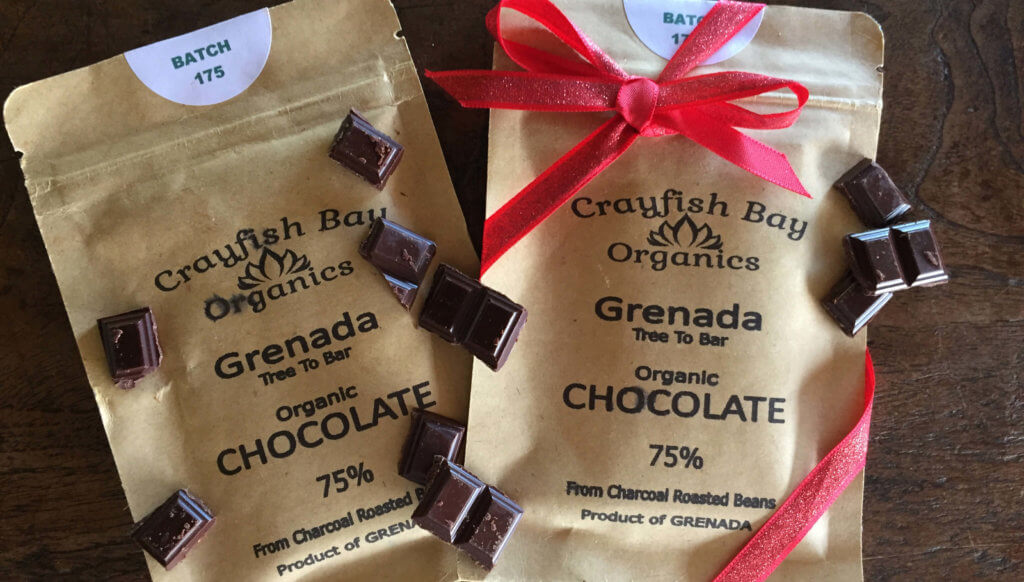 grenada chocolate from Crayfish bay estate