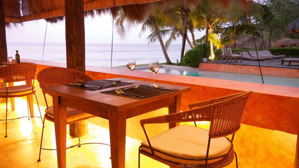 Laluna beachside dining for mothers day