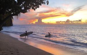 Grenada sunsets