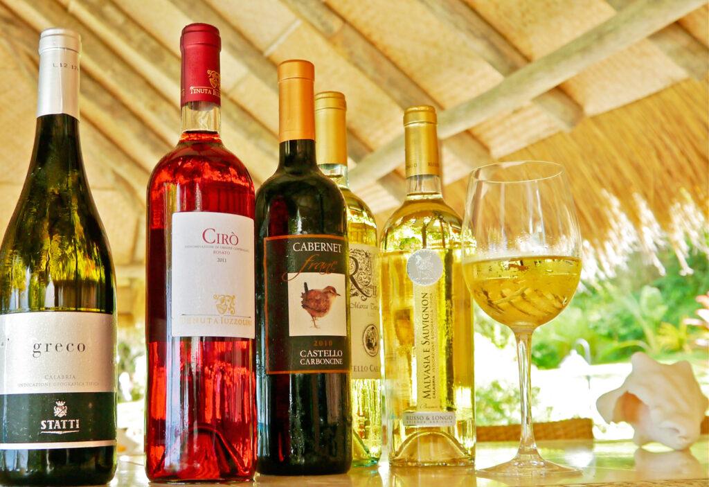 Laluna Italian Restaurant wines